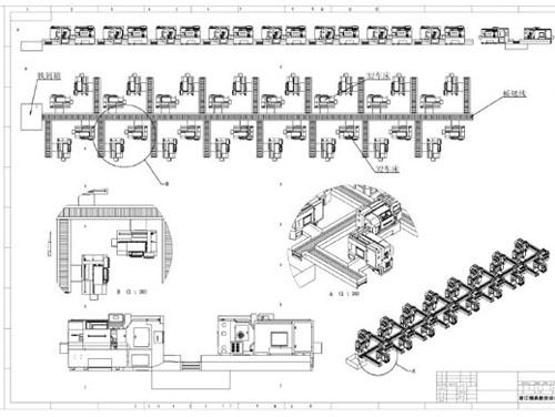 集中排屑系统样式设计图